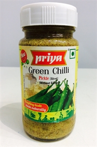 Picture of Priya Green Chilly Pickle 300 gm