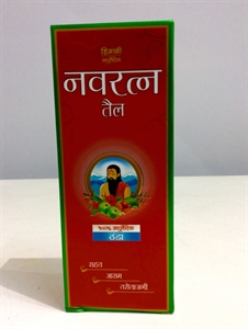 Navratan oil 100 ml の画像